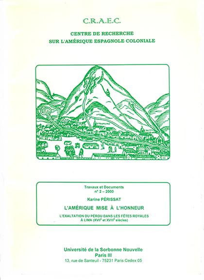 CRAEC PUBLICATIONS 2000 Perissat portada