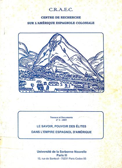 CRAEC PUBLICATIONS 2001 Le Savoir portada