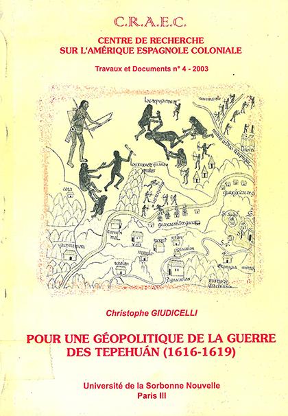 CRAEC PUBLICATIONS 2003 Giudicelli portada