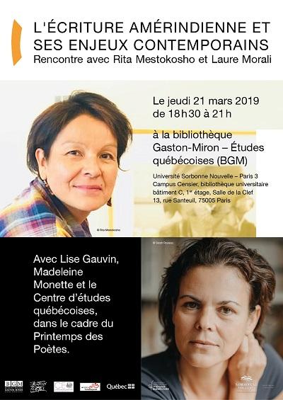 Rita Mestokosho et Laure Morali