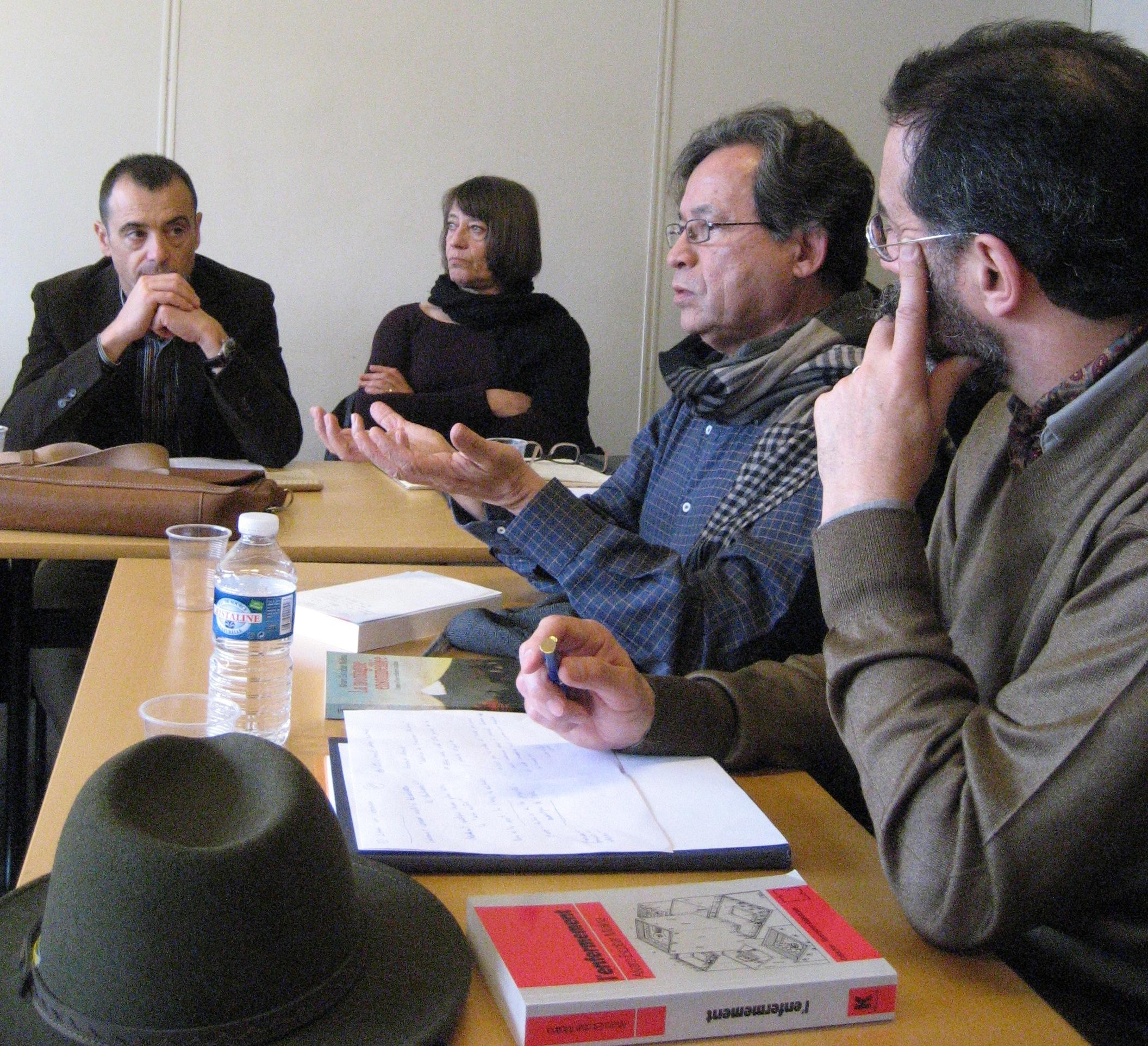 Álvaro Escóbar Molina au séminaire du CRICCAL