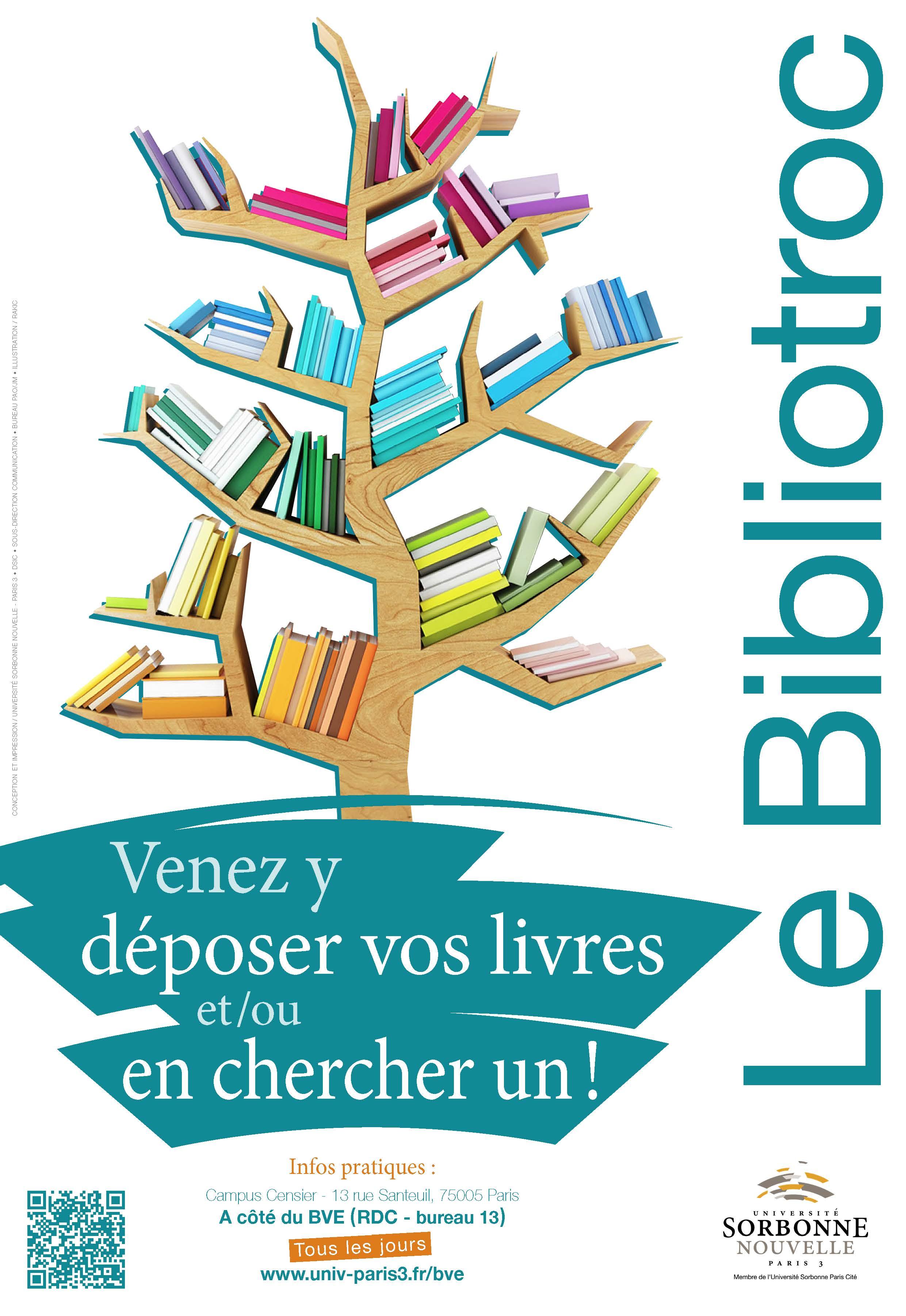Affiche Bibliotroc