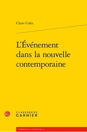 Claire Colin : livre