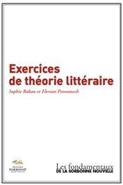 S. Rabau et F. Pennanech : Exercices de théorie littéraire