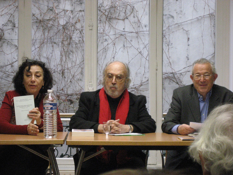 Fernando Aínsa au séminaire du CRICCAL 1