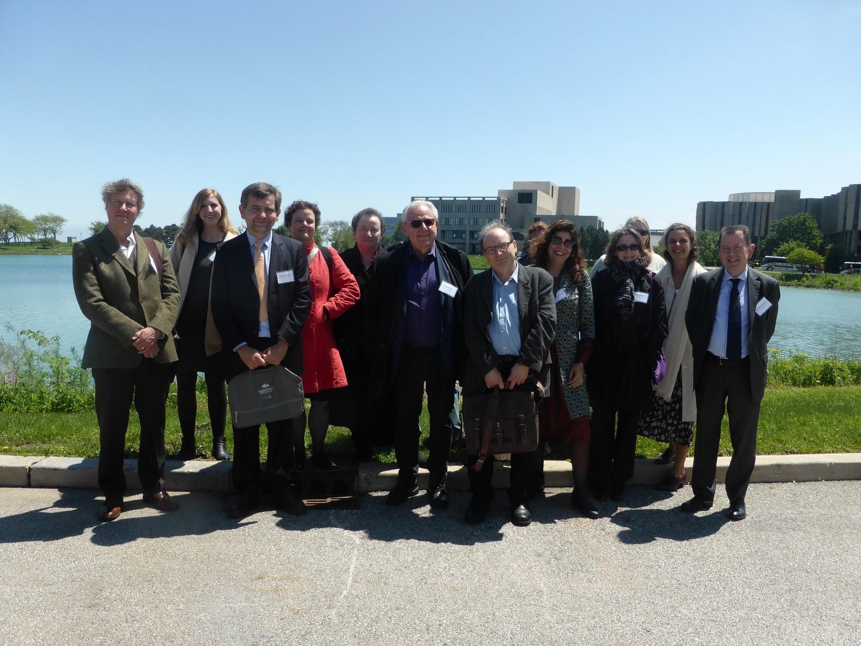 Les délégations de la Sorbonne Nouvelle et de Northwestern © DR.jpg
