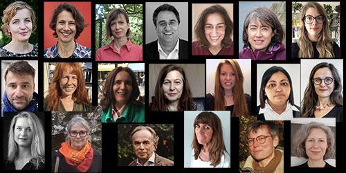 L'équipe pédagogique du Département d'Études Germaniques de la Sorbonne Nouvelle