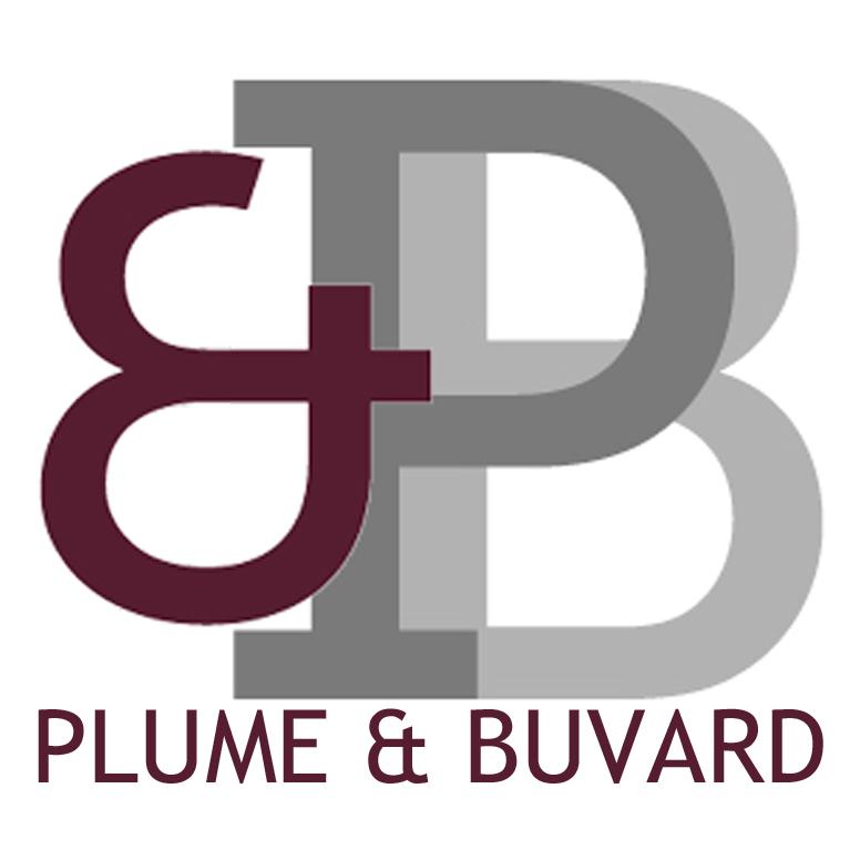 Logo plume et buvard