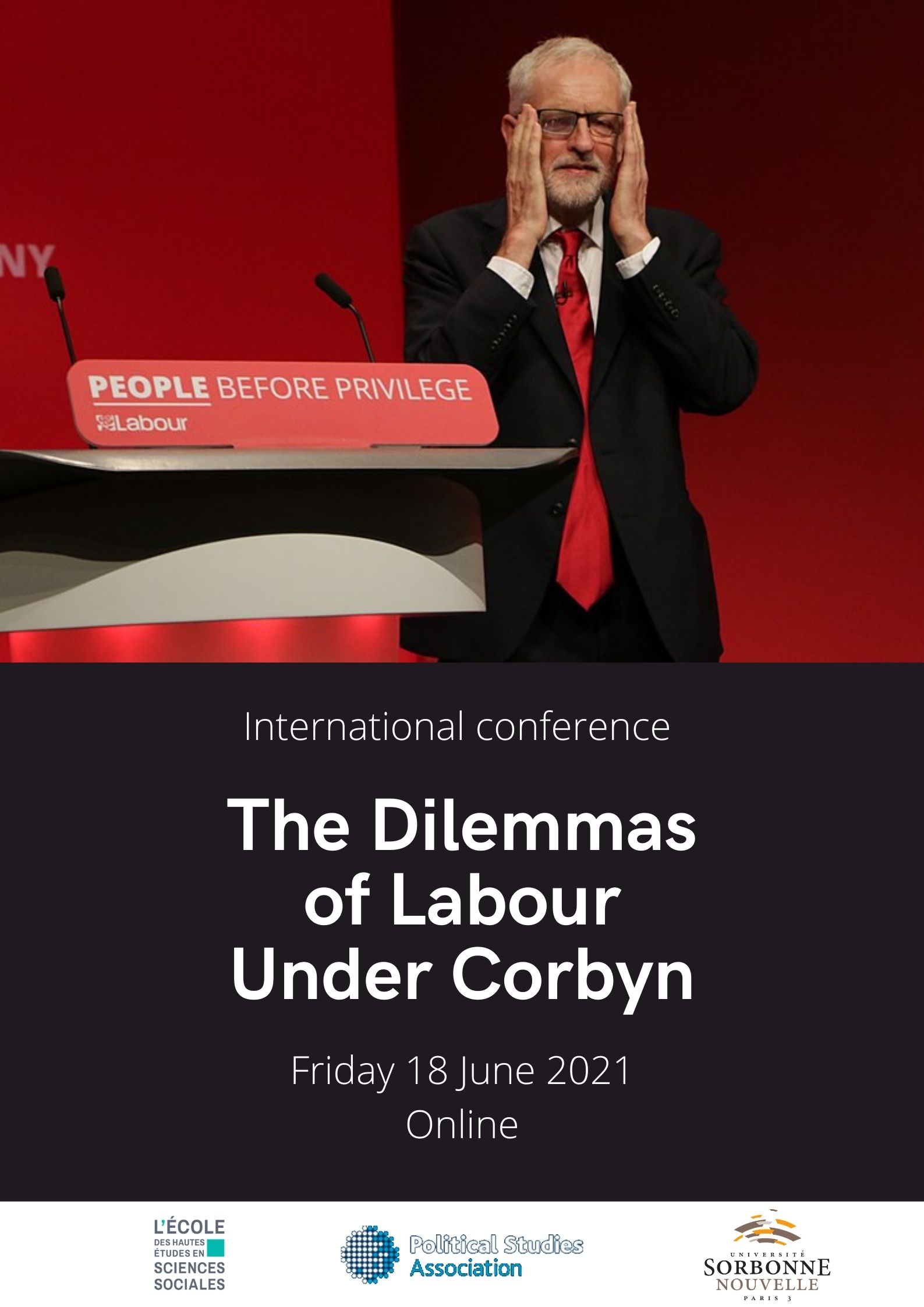 Poster The Dilemmas of  Labour Under Corbyn