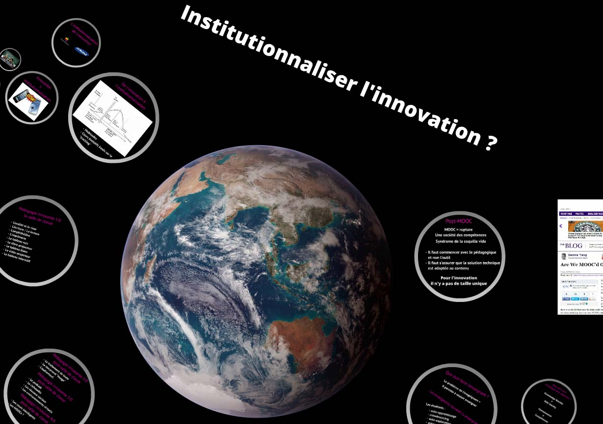 Dr Raphael Costambeys-Kempczynski, Institutionnaliser l'innovation ?