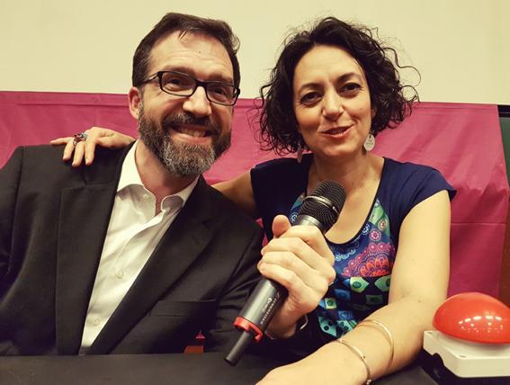 D17 : les animateurs Patrick Farges et Maud Pérez-Simon