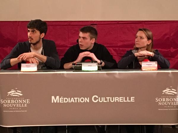D17 : équipe Médiation culturelle
